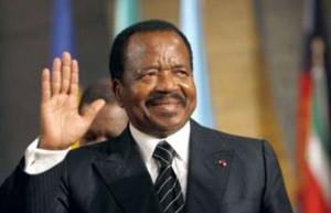 Cameroun's President Paul Biya