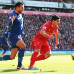 Rodgers Salutes Luis Suarez As Liverpool Top Premiership League Table
