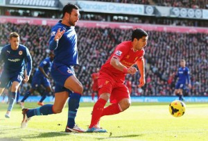 Luis Suarez inspired his teammate to 3-1 victory against Cardiff City