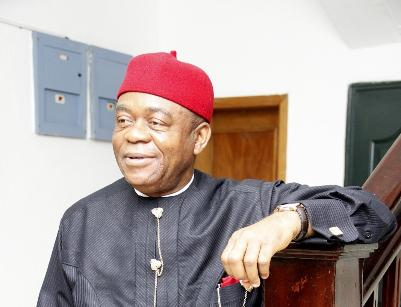 Abia State Governor, Chief T,A  Orji