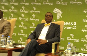 Nigeria's Minister of Agriculture Dr Akinwunmi Adesina