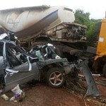 Tragedy In Ebonyi as Couple, 3 Others Killed In Auto Crash