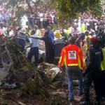 Breaking News: 20 Dead As Plane Carrying Agagu's Body Crashes In Lagos