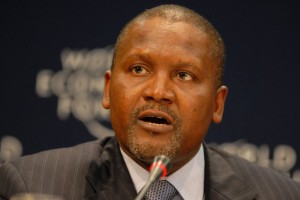 President of Dangote Group, Aliko Dangote