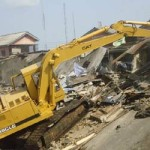 Irate Abuja Youths Ground FCT as F.C.D.A. Demolition Squad Crush Baby to Death