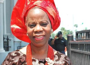 Doyin Abiola,  wife of late business mogul and acclaimed winner of the June 12 presidential election, late Chief MKO Abiola
