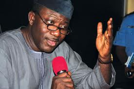 Governor Fayemi of Ekiti State, South-West Nigeria