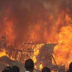 Fuel Storage: Father, Daughters, others Burnt To Death As Fire Razes Lagos Houses