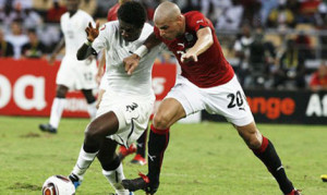 Ghana thrash Egypt 6-1