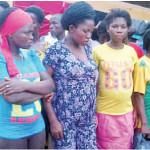 Girls rescued by the Abia state police command
