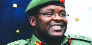 Nigeria's Chief of Army Staff Lt.Gen.Azubuike Ihejirika