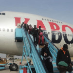 Breaking News: Another Plan Crash Averted as Kabo Air Plane Tyres Explode Mid Air