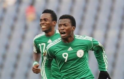 Nigeria's Flying Eagles star player, Kayode Olarewaju