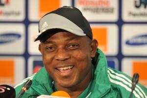 Nigeria's Coach Steven Keshi