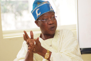Alhaji Lai Mohammed, National Publicity Secretary of All Progressive Party (APC)