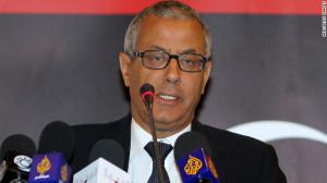 Ali Zeidan, Prime Minister of Libya