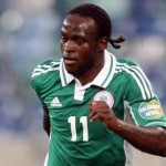 Victor Moses Arrives Eagles Camp Ahead of Nigeria-England Friendly