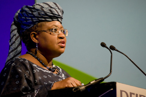 Minister of Finance Dr Okonjo Iweala