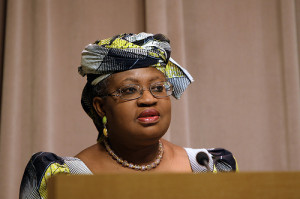 Nigeria's Minister of Finance  Dr Okonjo Iweala