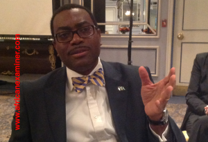 Nigeria's Minister of Agriculture, Dr Akinwunmi Adesina
