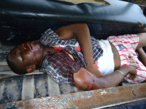 A kidnapper who was killed in Aba during a gun battle with police