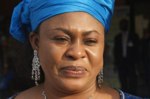 Embattled Minister of Aviation, Stella Oduah