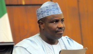 Speaker of Nigeria's House of Reps Aminu Tambuwal