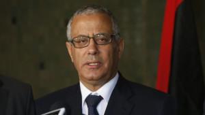 Prime Minister Ali Zeidan