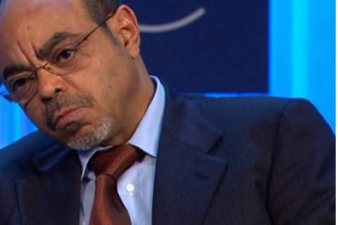 Late Ethiopian Prime Minister Meles Zenawi
