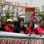 Women Group Protests Over 2 Women Stripped Naked, Beaten for Stealing Pepper In Lagos