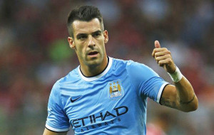 Alvaro Negredo sealed City win with a goal in injury time