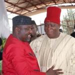 Okorocha Hails Umeh's Sack As APGA National Chairman, Says Sack Vindicates His Mandate