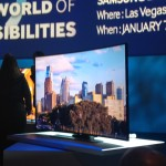 Samsung unveils new 85 inch bendable TV