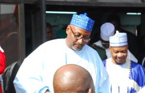new National chairman of People Democratic Party (PDP) Adamu Mu'azu