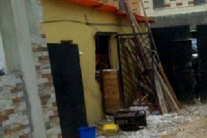 OJB house under renovation