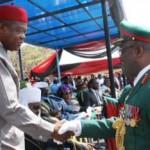 Gov. Orji Lauds Lt. Gen. Ihejirika's Professionalism