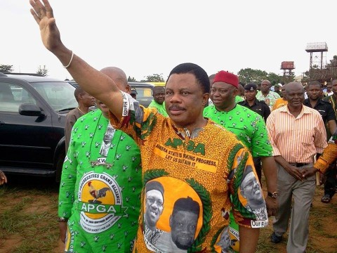 Image result for victorious obiano