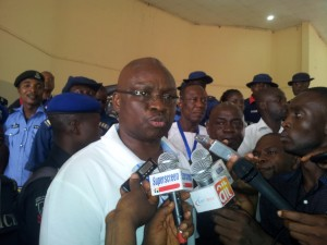 Ekiti Governorship Election: Fayose Speaks with Journalists after emerging as PDP Flag Bearer
