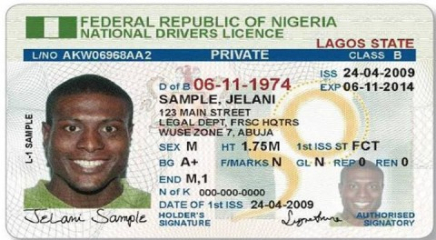 African Frsc Plates Driver's Arrest Licenses Number Begins Moves To Fake Holders Examiner Of