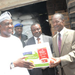 CSR: Dangote Donates 12 Trailer-Load Of Relief Material To Benue