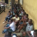 Lagos Taskforce Arrests 186 Hoodlums In Oshodi, Promises To Sanitise The Area