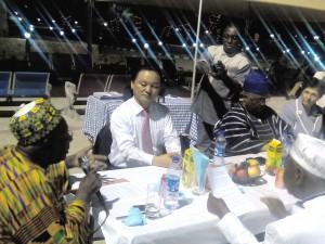 Chairman of the Nigeria Railway Corporation, Alh. Bamaga Tukur Meets with Korean Investors