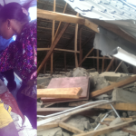 2 Storey Building Collapses In Lagos As 10 Escape Death
