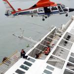 Ferry Sinks in South Korea, 293 feared missing