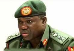 Nigeria's Army Boss Kenneth Minimah