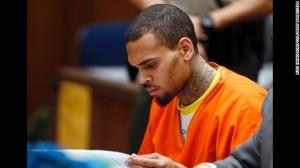 Singer Chris Brown