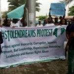 May-Day: Police Disperse Protesters In Lagos With Tear Gas