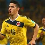 Rodriguez brace sets up Brazil showdown