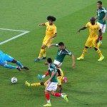 Mexico Humble Cameroon, As Referee Disallowed 3 Goals