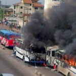Fashola Inaugurates Tribunal To Probe Soldiers' Burning Of BRT Buses